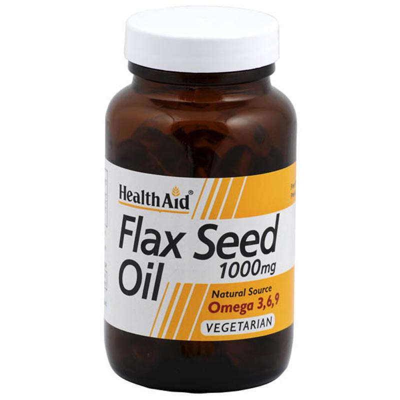 Flax seed capsules