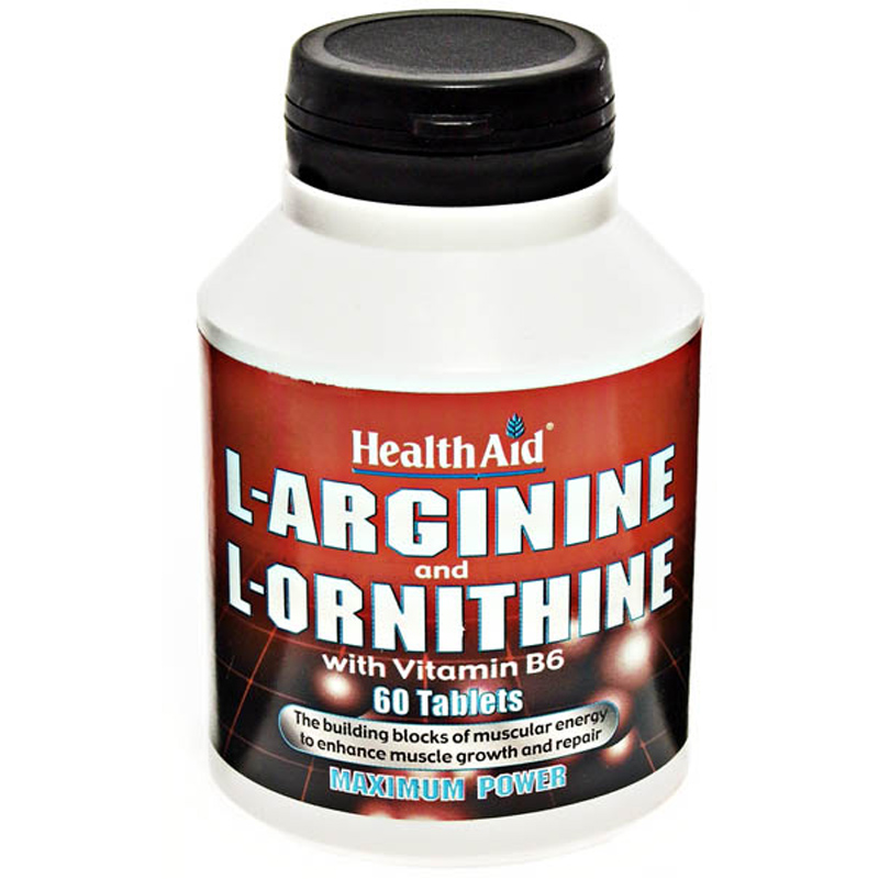 L Arginine With L Ornithine From Healthaid Wwsm