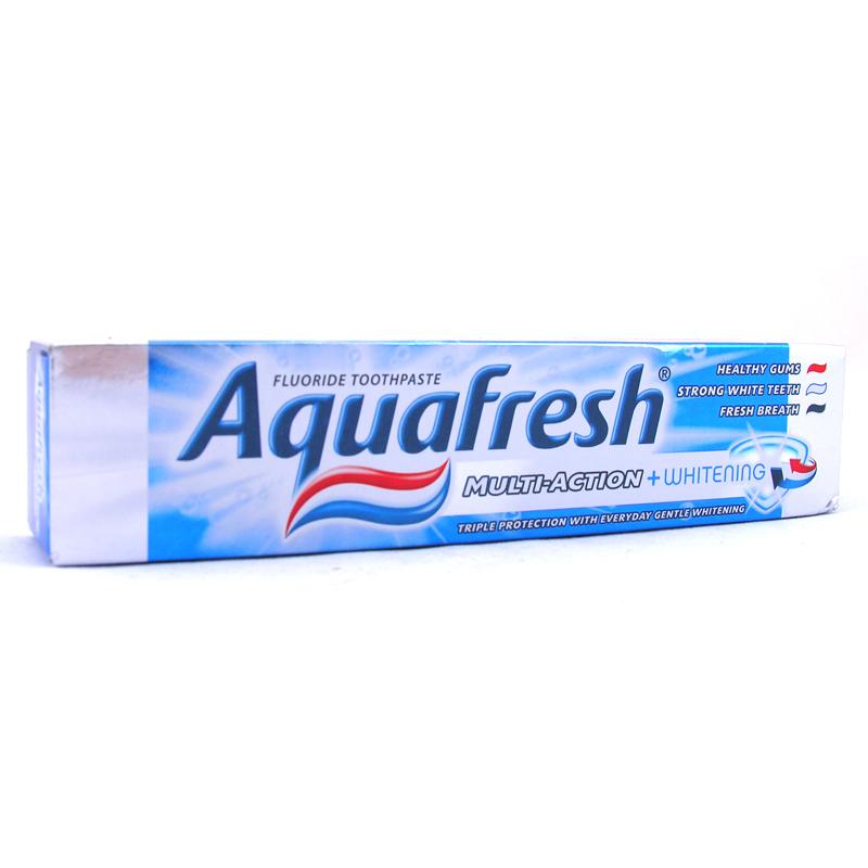 Aquafresh Multi-Action & Whitening Toothpaste 100ml | eBay