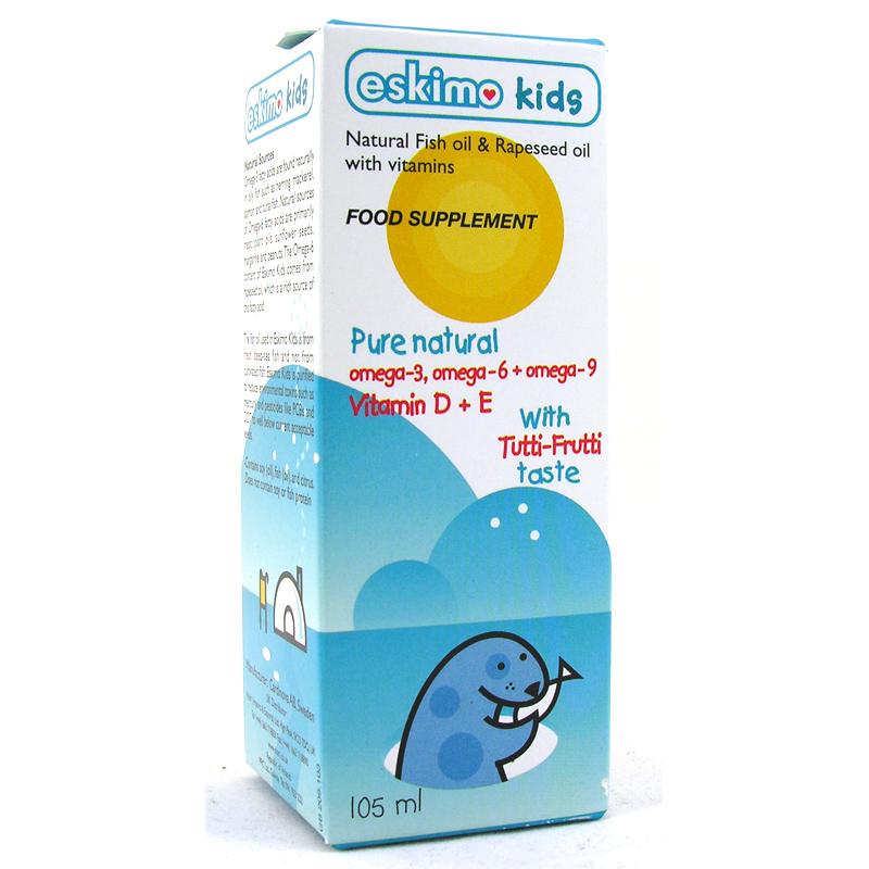 Eskimo kids fish oil from nutri wwsm for Kids fish oil