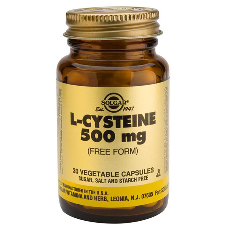 Solgar L-Cysteine 500mg 30 Vegicaps