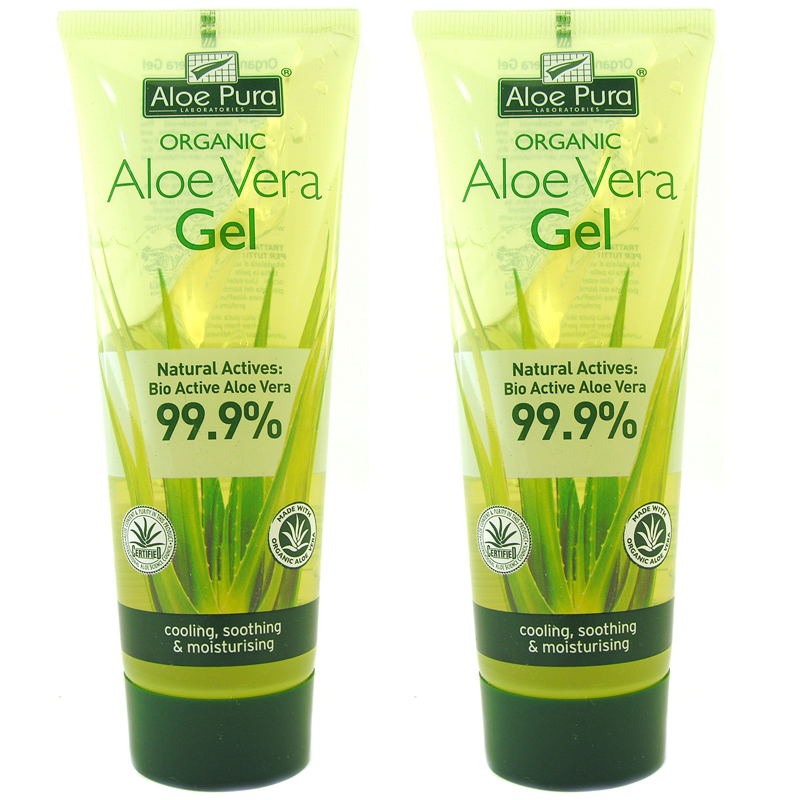 Organic Aloe Vera Gel From Aloe Pura Wwsm