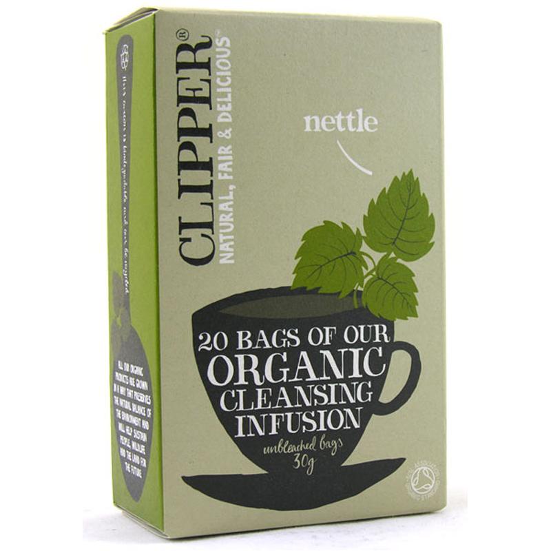 clipper organic nettle tea bags 20 pack ebay. Black Bedroom Furniture Sets. Home Design Ideas