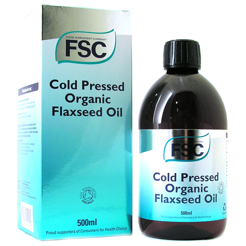 Cold pressed organic flaxseed oil from fsc wwsm - Aceite de linaza ...