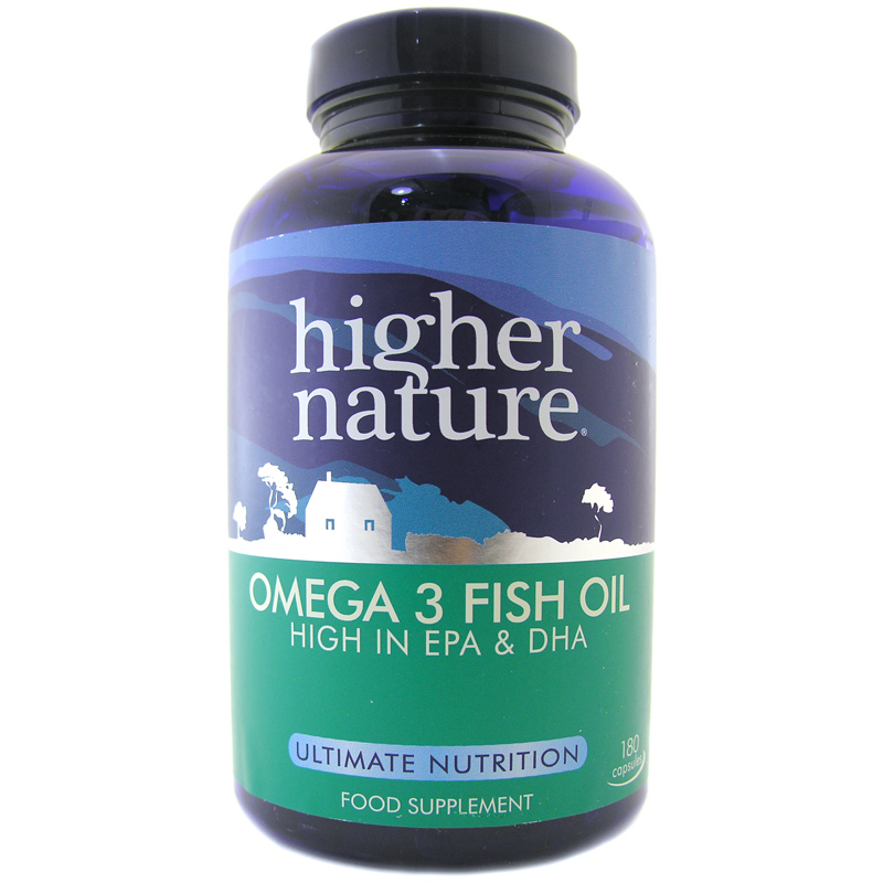Omega 3 fish oil from higher nature wwsm for Omega 3 fish oil reviews