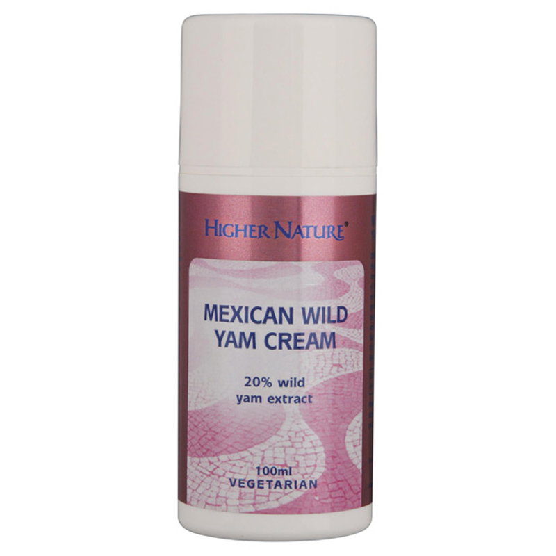 Mexican Wild Yam Cream From Higher Nature Wwsm