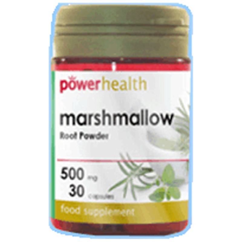 Marshmallow root powder for hair