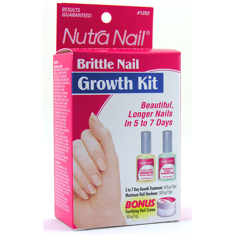Growth Kit For Brittle Nails From Nutranail Wwsm