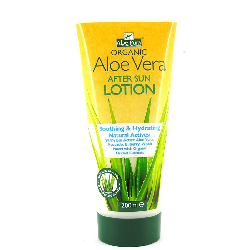 Aloe vera sun lotion