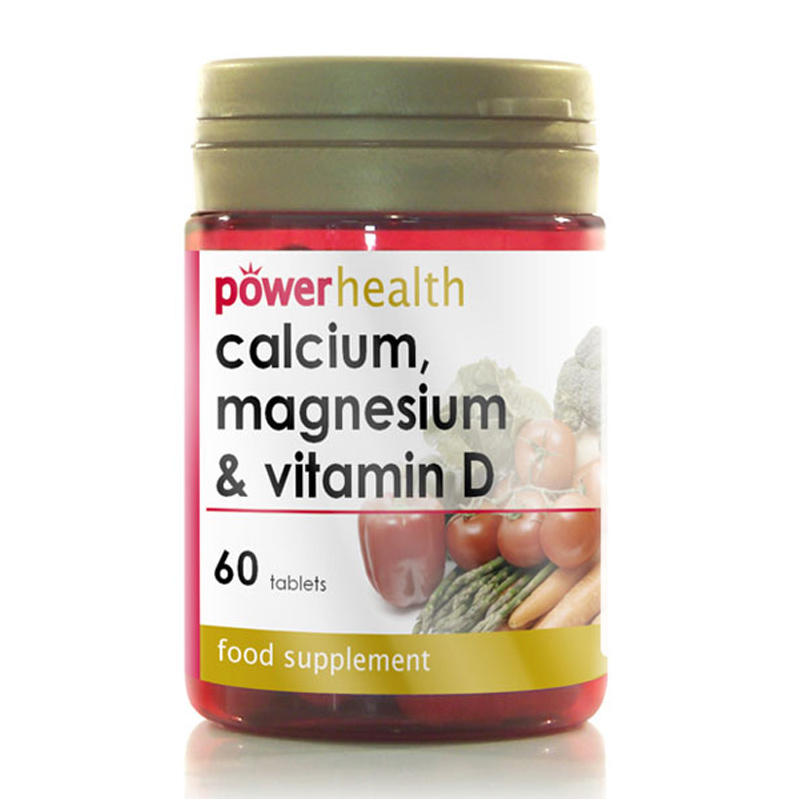Calcium, Magnesium & Vitamin D from Power Health