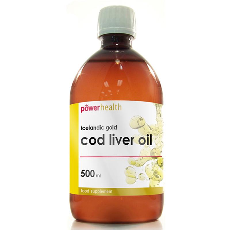 Power Health Icelandic Gold Pure Cod Liver Oil Liquid 500ml Ebay