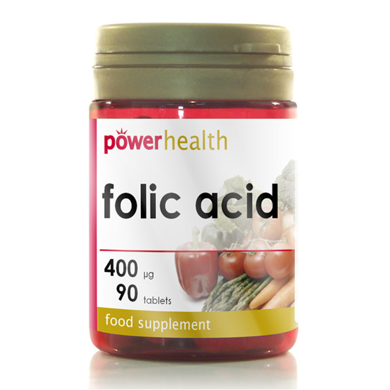 folic acid Folic acid is the man-made form of folate, a b vitamin folate is found naturally in certain fruits, vegetables, and nuts folic acid is found in vitamins and fortified foods folic acid and folate help the body make healthy new red blood cells.