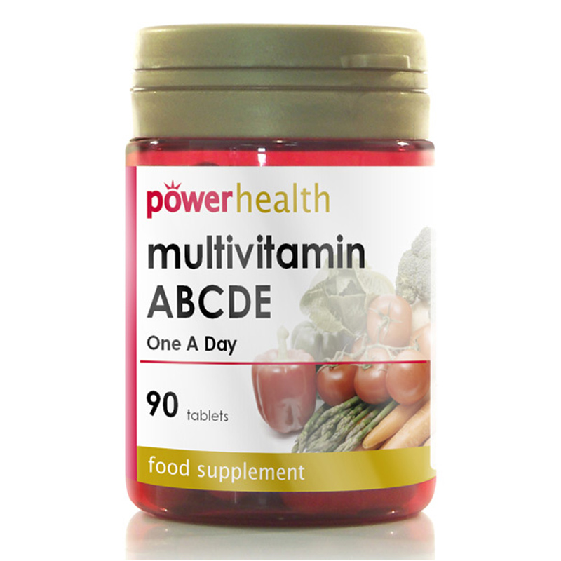 Multivitamin abcde one a day from power health wwsm