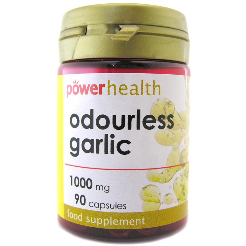 Odourless garlic