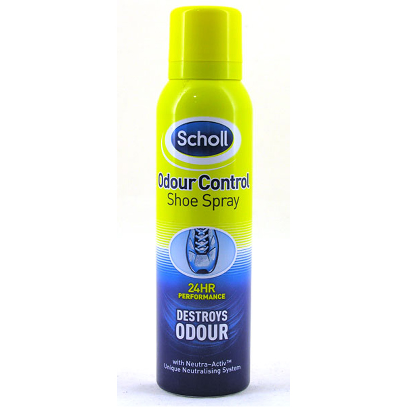 Shoe odour spray