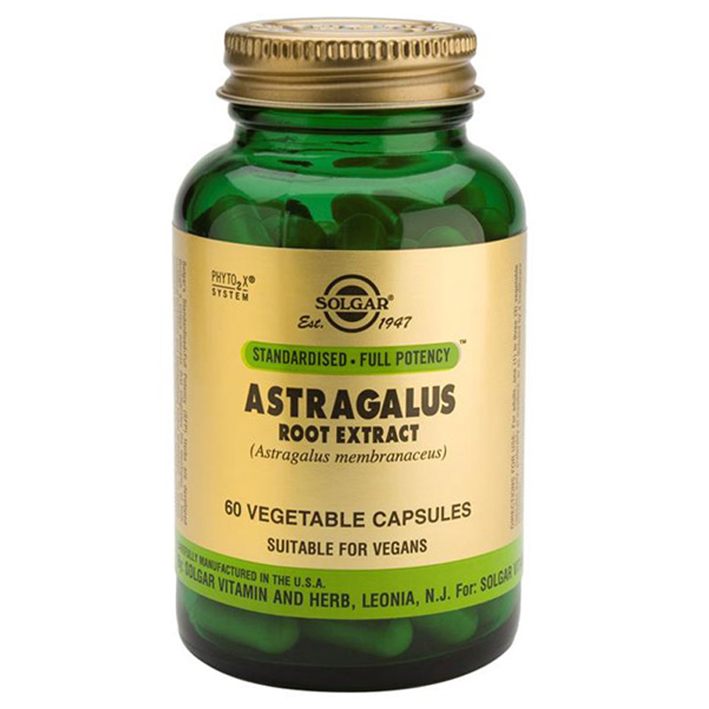 Solgar Astragalus Root Extract SFP 60 Vegicaps
