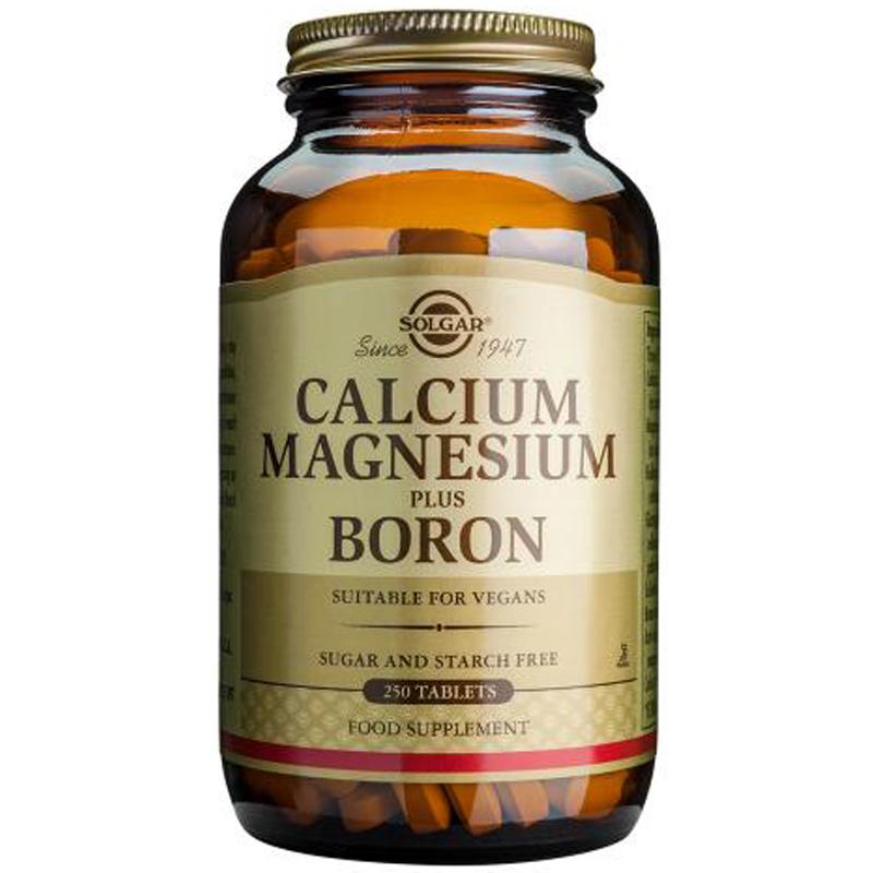 Calcium Magnesium Plus Boron From Solgar Wwsm
