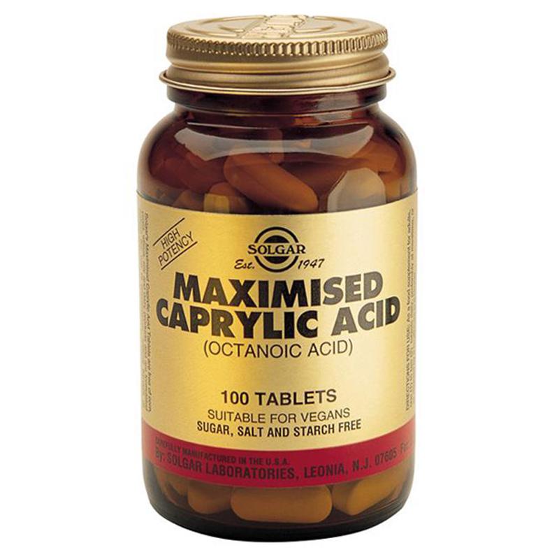 Caprylic acid tablets