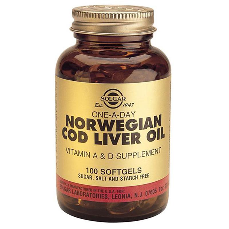 Solgar norwegian cod liver oil