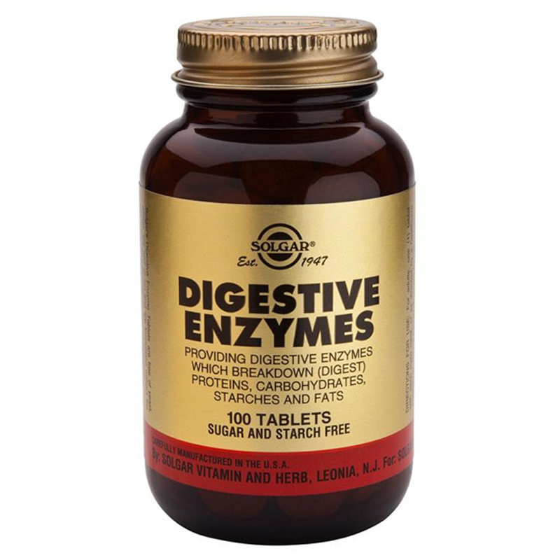 Solgar vitamins digestive enzymes review
