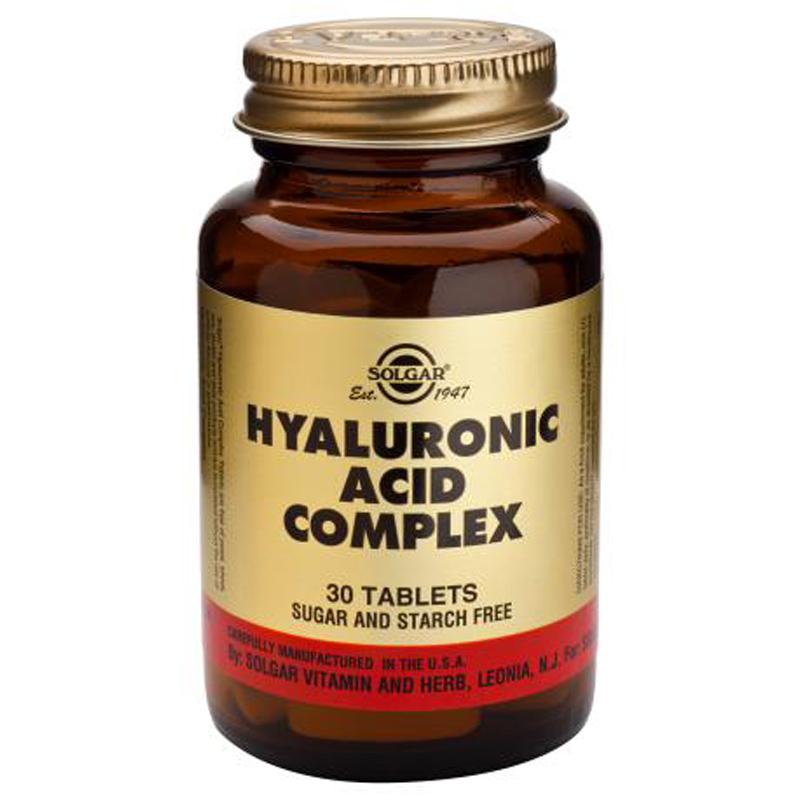 Solgar Hyaluronic Acid Complex 30 Tablets Ebay