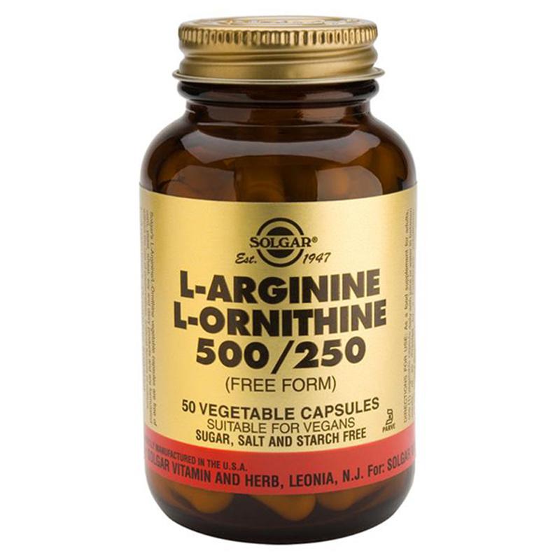 L-arginine and ornithine : Top fat burner for women