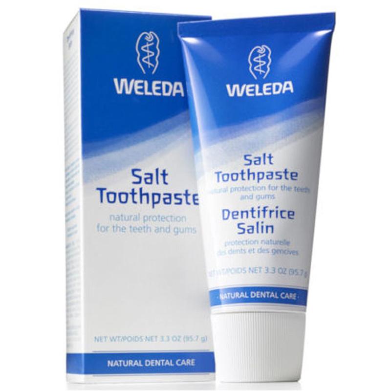 Weleda salt toothpaste ingredients
